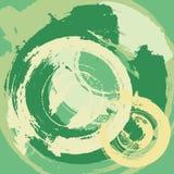 Fond grunge abstrait avec les rappes radiales Image libre de droits