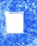 Fond grunge abstrait bleu Photo stock