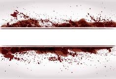Fond grunge abstrait d'éclaboussure de sang Photo libre de droits