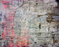 Fond grunge abstrait de brique Images libres de droits