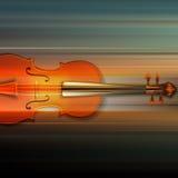 Fond grunge abstrait de musique avec le violon Image stock