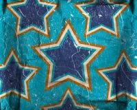 Fond grunge avec des étoiles Photographie stock