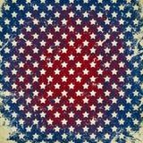 Fond grunge avec des étoiles Images libres de droits
