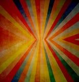 Fond grunge avec la ligne et les couleurs radiatives Image stock