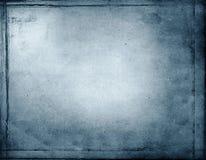 Fond grunge bleu abstrait Images stock