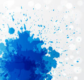Fond grunge bleu abstrait Image stock