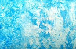 Fond grunge bleu d'aquarelle de texture Taches pour aquarelle de peinture artistique illustration libre de droits