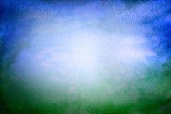 Fond grunge, bleu et vert Images libres de droits