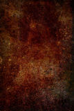 Fond grunge brun-rougeâtre de texture en métal de rouille images stock
