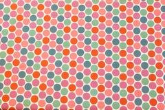 Fond grunge coloré avec des cercles Photographie stock libre de droits