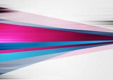 Fond grunge coloré de vecteur de technologie abstraite illustration stock