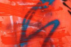 Fond grunge coloré vibrant de mur de peinture images libres de droits