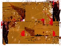 Fond grunge complexe Image libre de droits