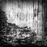 Fond grunge Couleur noire et blanche Images stock