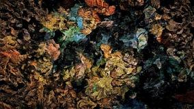 Fond grunge décoratif de trame abstraite, avec des textures des baisses troubles de calomnies chaotiques de peinture illustration de vecteur