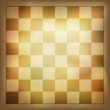 Fond grunge d'échecs de vintage. illustration stock