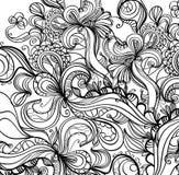 Fond grunge d'encre illustration stock