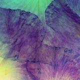 Fond grunge de batik d'art floral Couleurs en pastel de Stylization, aquarelles Contexte texturisé de vintage avec le rose, rouge Images stock