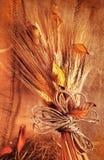 Fond grunge de blé Photographie stock