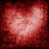 Fond grunge de coeur Photo libre de droits