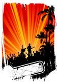Fond grunge de concert illustration libre de droits