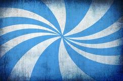 Fond grunge de cru bleu avec des rayons du soleil Photos stock