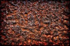 Fond grunge de fer de rouille Photos libres de droits