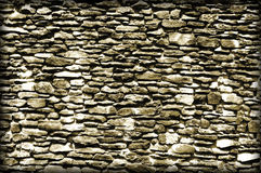 Fond grunge de mur de briques Photos libres de droits