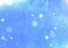 Fond grunge de neige de vintage Image stock