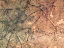 Fond grunge de papier brun Froissé et souillé illustration stock