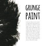 Fond grunge de peinture Illustration de vecteur pour votre eau doux de design illustration libre de droits