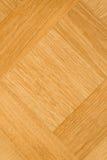 Fond grunge de plancher de parquet de conception carrée Photos libres de droits