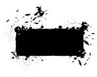 Fond grunge de silhouette de Halloween Photographie stock libre de droits