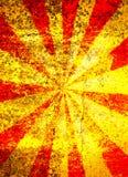 Fond grunge de starburst Images libres de droits