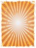 Fond grunge de sunray Images stock
