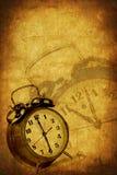 Fond grunge de temps Photographie stock libre de droits