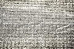 Fond grunge de texture de papier de clinquant Images libres de droits