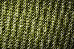 Fond grunge de texture de tissu de limette Photos libres de droits