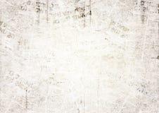Fond grunge de texture de journal de vintage images libres de droits
