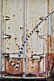 Fond grunge de trappes en métal Image libre de droits