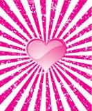 Fond grunge de valentine Photographie stock
