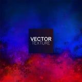 Fond grunge de vecteur de rouge bleu illustration libre de droits