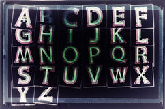 Fond grunge de vintage abstrait avec le type photo libre de droits