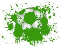 Fond grunge du football Photographie stock libre de droits