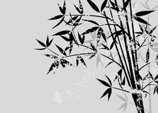 Fond grunge en bambou Photographie stock