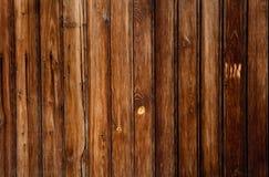 Fond grunge en bois de brun foncé Photo libre de droits