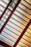 Fond grunge en métal avec les lignes diagonales Photo libre de droits