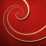 Fond grunge en spirale d'infini Photographie stock