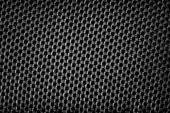 Fond grunge métallique noir de texture de tissu Photo libre de droits