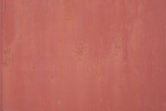 Fond grunge rouillé porté rouge de fer Image stock